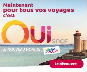 Oui.sncf  TRAIN (Voyage-sncf.com) : TGV, OUIGO, EUROSTAR, Auto Train...